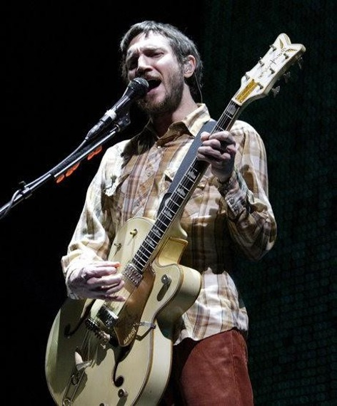miniaturka gitary RED HOT CHILI PEPPERS - JOHN FRUSCIANTE: GRETSCH WHITE FALCON