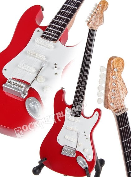 miniaturka gitary THE POLICE - ANDY SUMMERS RED STRAT
