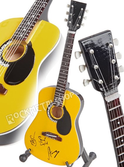 miniaturka gitary THE POLICE - STING: GIBSON ACOUSTIC