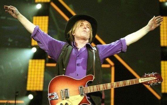 miniaturka gitary TOM PETTY AND THE HEARTBREAKERS: RICKENBACKER LIMITED