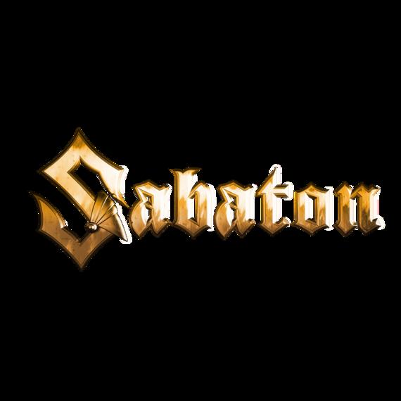 naklejka SABATON - LOGO, (91 cm * 37cm)