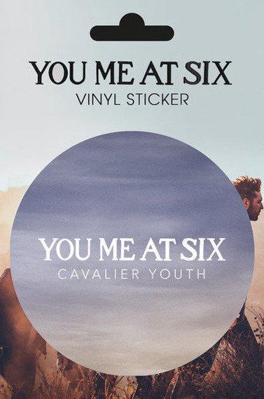 naklejka YOU ME AT SIX - CAVALIER LOGO