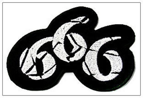 naszywka 666