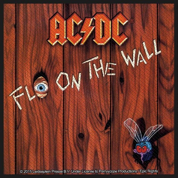 naszywka AC/DC - FLY ON THE WALL