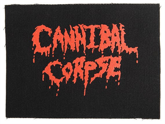naszywka CANNIBAL CORPSE - LOGO