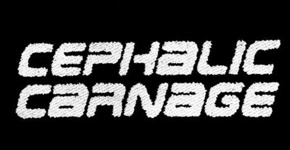 naszywka CEPHALIC CARNAGE