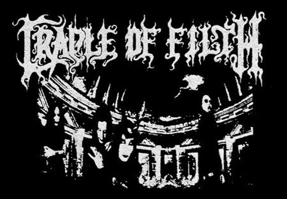 naszywka CRADLE OF FILTH - BAND