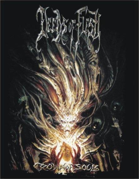naszywka DEEDS OF FLESH - CROWN OF SOULS