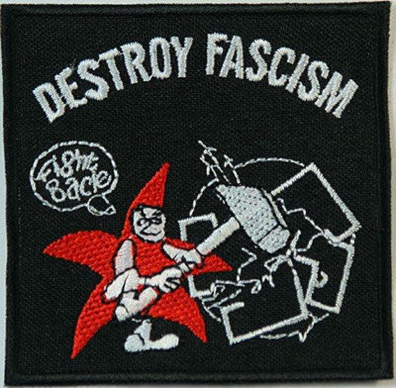 naszywka DESTROY FASCISM