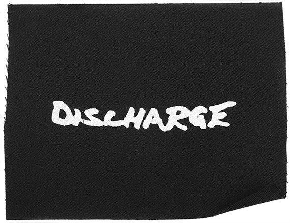 naszywka DISCHARGE - LOGO