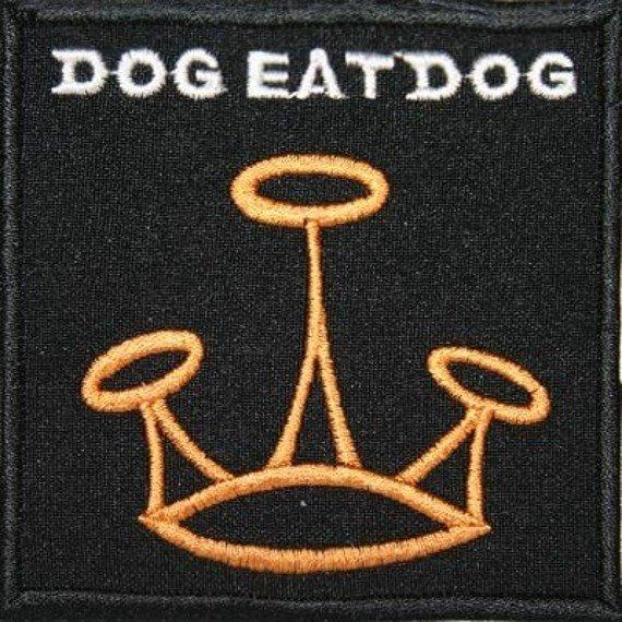 naszywka DOG EAT DOG