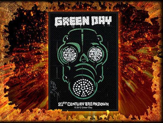 naszywka GREEN DAY - GAS MASK