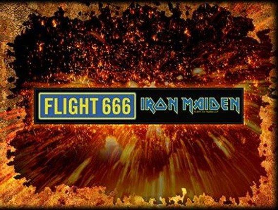 naszywka IRON MAIDEN - FLIGHT 666