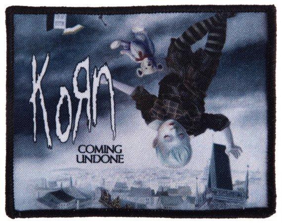 naszywka KORN - COMING UNDONE