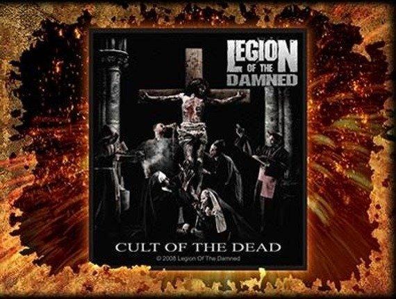 naszywka LEGION OF THE DAMNED - CULT OF THE DEAD