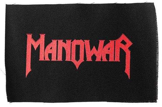 naszywka - MANOWAR LOGO RED