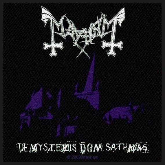 naszywka MAYHEM - DE MYSTERIIS DOM SATHANAS