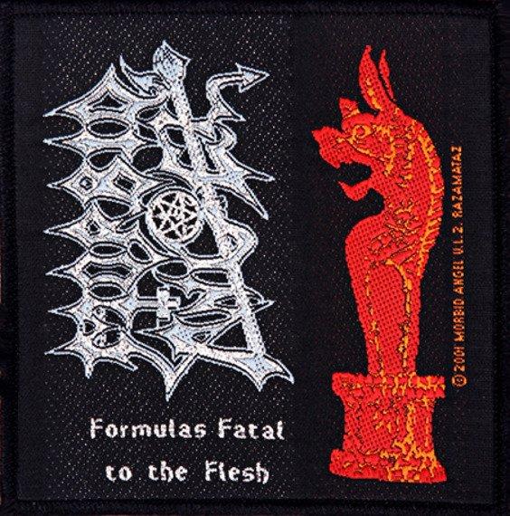 naszywka MORBID ANGEL - FORMULAS FATAL TO THE FLESH