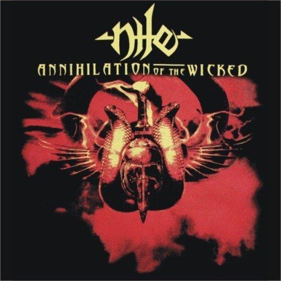 naszywka NILE - ANNIHILATION OF THE WICKED