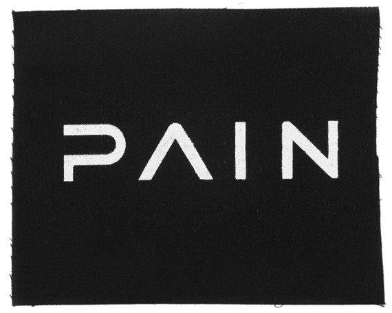 naszywka PAIN - LOGO