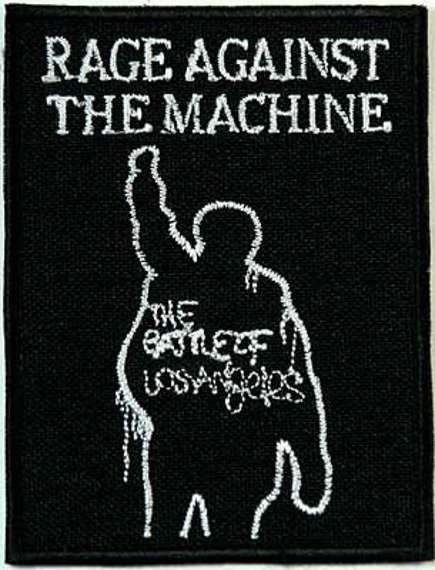 naszywka RAGE AGAINST THE MACHINE - THE BATTLE OF LOS ANGELES