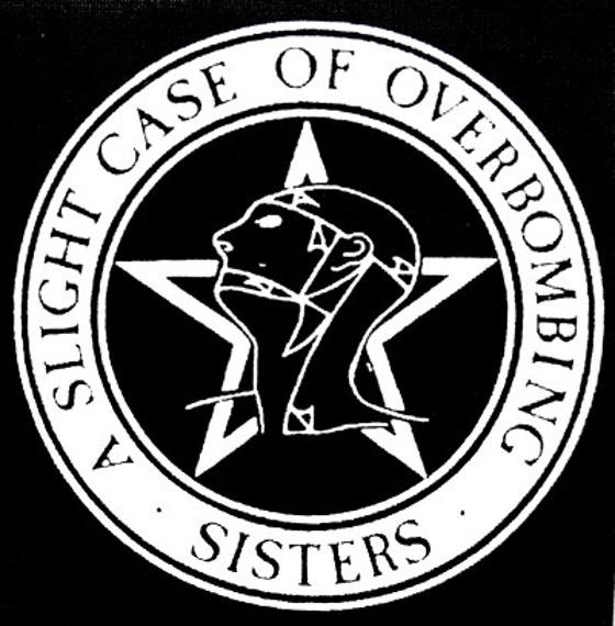 naszywka SISTERS OF MERCY - A SLIGHT CASE OF OVERBOMBING