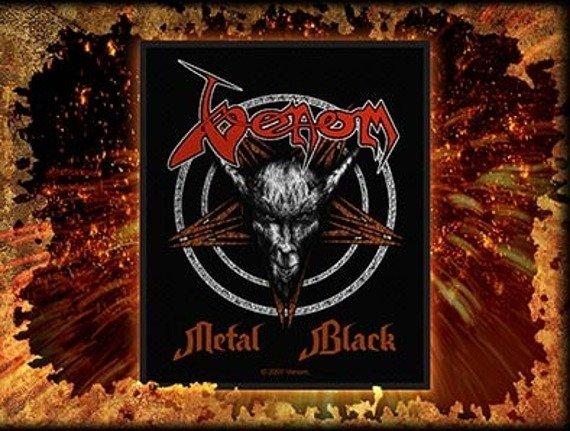 naszywka VENOM - METAL BLACK
