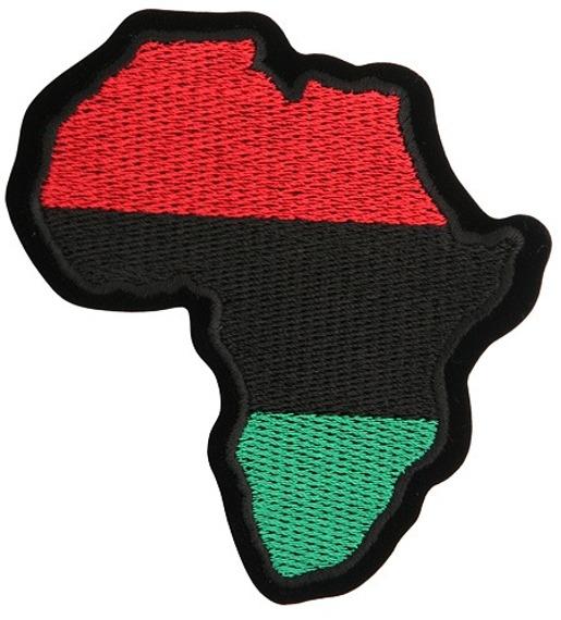 naszywka termiczna BLACK RASTA AFRICA (EP.505)