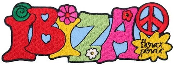 naszywka termiczna IBIZA - FLOWER POWER (EP.253)