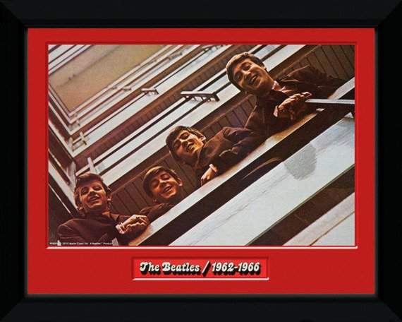 obraz w ramce THE BEATLES - RED ALBUM