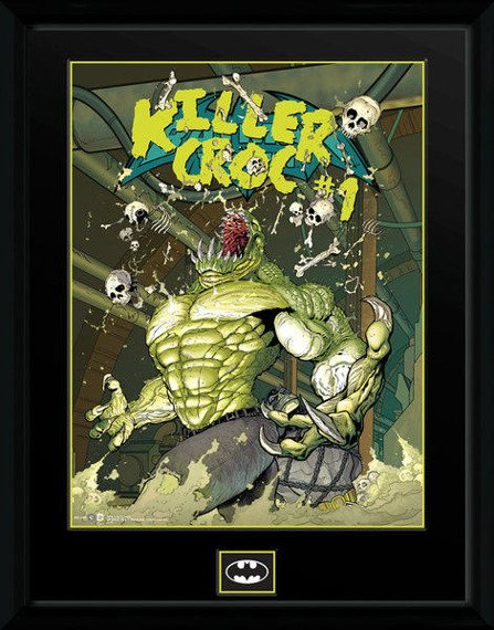obraz w ramie DC COMICS - KILLER CROC SEWERS