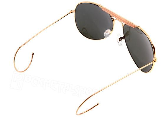 okulary PILOTKI STURM MIL-TEC srebrne