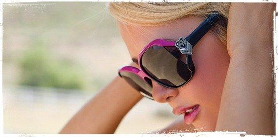 okulary damskie METAL MULISHA - MOVE OVER