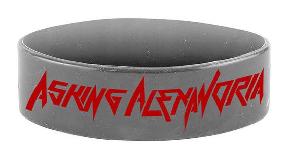opaska ASKING ALEXANDRIA - WRIST METAL  silikonowa