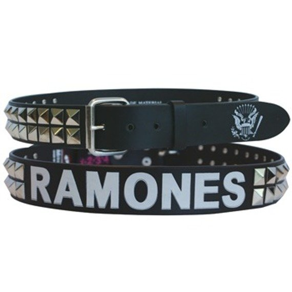 pas RAMONES - BLACK STUDDED