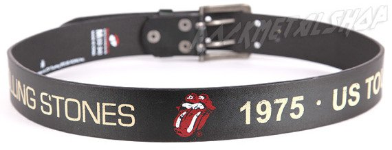pas ROLLING STONES - BLACK RED PRINT