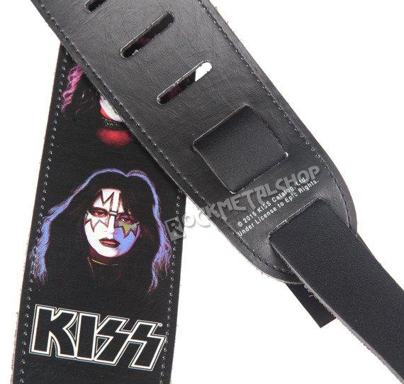 pas do gitary KISS - BAND skórzany, 63mm