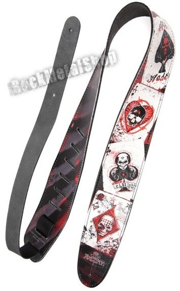 pas do gitary PLANET WAVES - ALCHEMY GOTHIC LEATHER: DEAD DRAW (25LAL02)