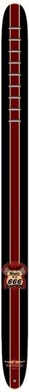 pas do gitary VULTURE KULTURE - BLOODY 666 skórzany, 63mm
