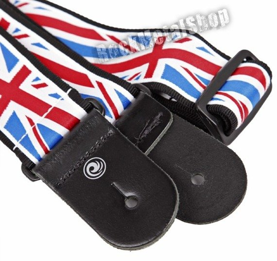 pasek do gitary PLANET WAVES - WORLD TOUR COLLECTION: UNION JACK (50A11)