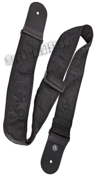 pasek gitarowy PLANET WAVES - RETRO CLASSICS: BLACK SATIN (50B01)