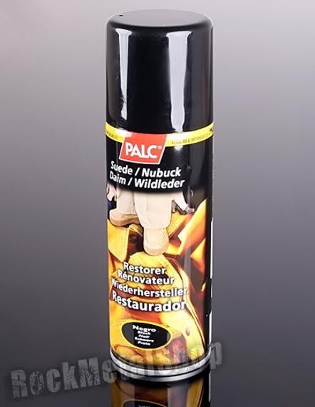 pasta / spray do zamszu i nubuku PALC, kolor czarny
