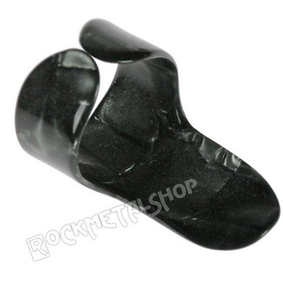 pazurek na palec średni BOSTON TORTOISE / BLACK