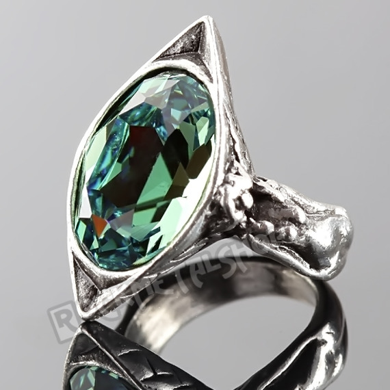 pierścień ABSINTHE FAIRY SPIRIT CRYSTAL