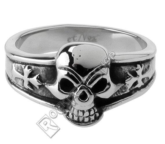 pierścień DARK SKULL