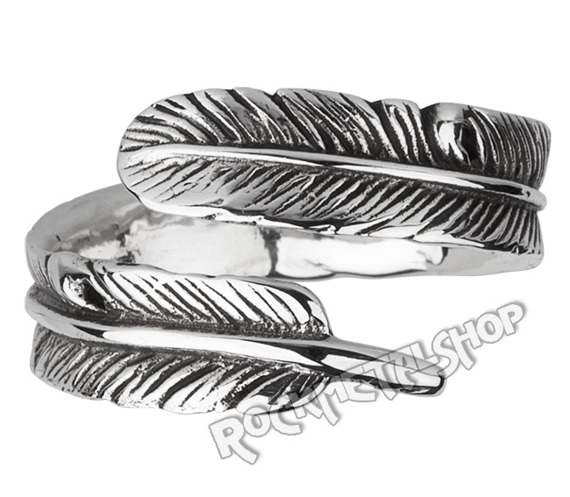 pierścionek FEATHER, srebro 925