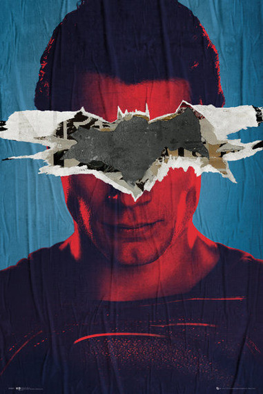 plakat BATMAN VS SUPERMAN - SUPERMAN TEASER