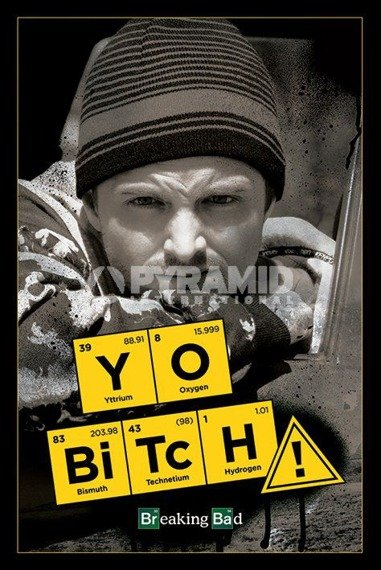 plakat BREAKING BAD - YO BITCH!