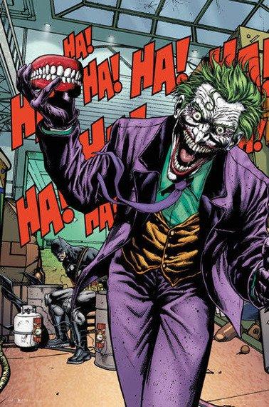plakat DC COMICS - JOKER FOREVER EVIL