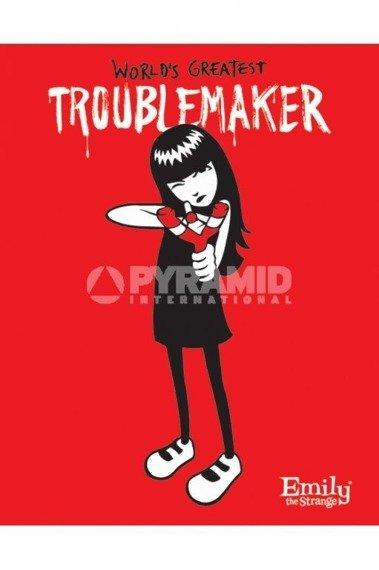 plakat EMILY THE STRANGE - TROUBLE MAKER